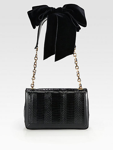 Christian Louboutin Artemis Python Shoulder Bag