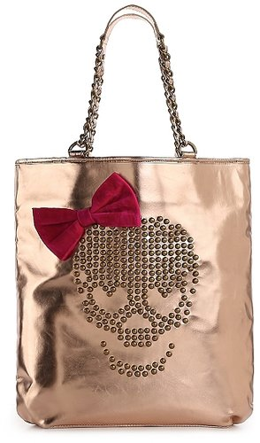 Betsey Johnson Skull Candy Tote