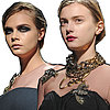 Pictures of Lanvin Beauty Look at Winter Paris Fashion Week
