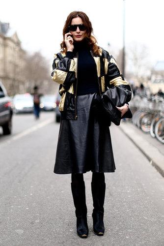 Paris Fashion Week Street Style Fall 2013