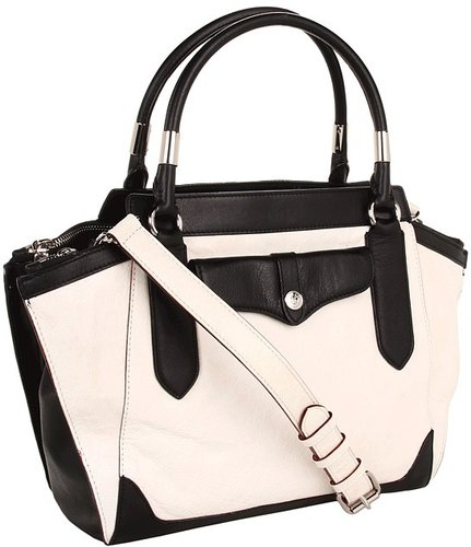 Rebecca Minkoff - Wes Mab Mini (White/Black) - Bags and Luggage