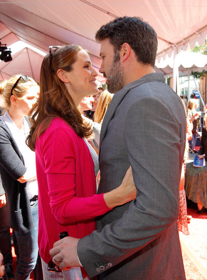In March, Jennifer Garner and Ben Affleck kissed at the John Varvatos 10th Stuart House Benefit in LA.