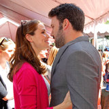 Ben Affleck and Jennifer Garner PDA at John Varvatos Event