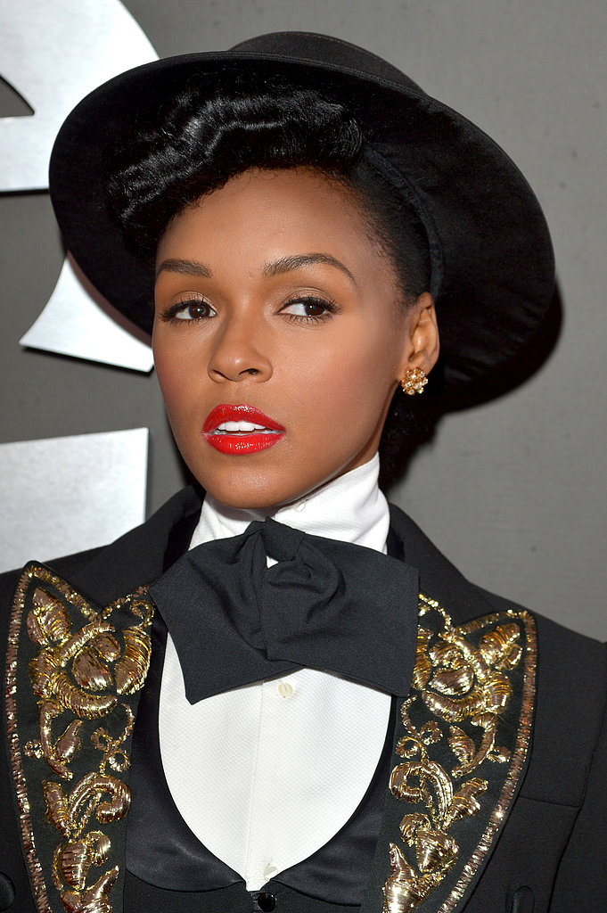 Janelle Monáe at the Grammy Awards