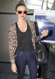 Miranda Kerr Gets Back to Work in LA