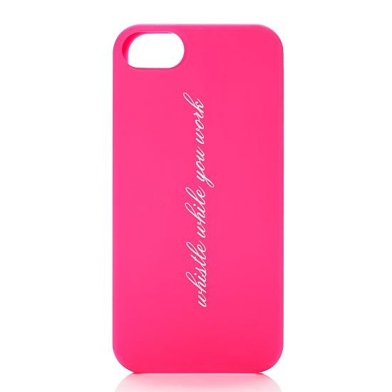 Busybees, check out the USB version of this Kate Spade Whistle While You Work iPhone 5 Case ($35).