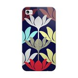 This Ananda ($35) case for iPhone 4/4S has lovely modern, abstract blooming flower shapes.