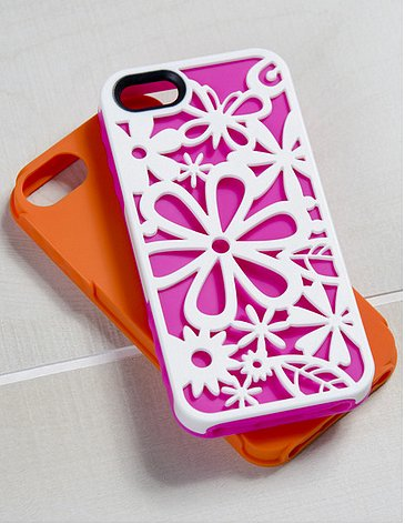 The flower-powered Blooming iPhone 5 Case Set ($33) has serious '70s style.