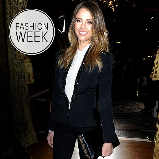 6 Ways Jessica Alba Is Bringing California Cool to Paris Fashion Week