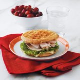 Healthy Waffle Sandwich