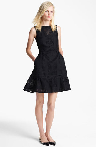 Valentino Sleeveless Lace Dress