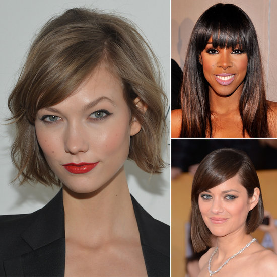 Considering Cutting In a Fringe? Here's Your Inspiration Board