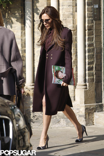 Victoria Beckham carried an Angels and Urchins magazine.