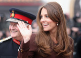 Kate Middleton made a tour of Grimsby.