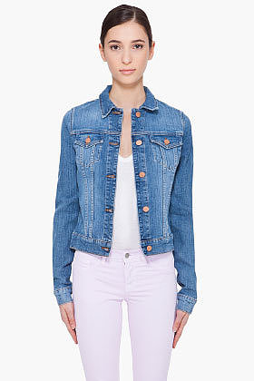 J BRAND Blue Denim Jacket