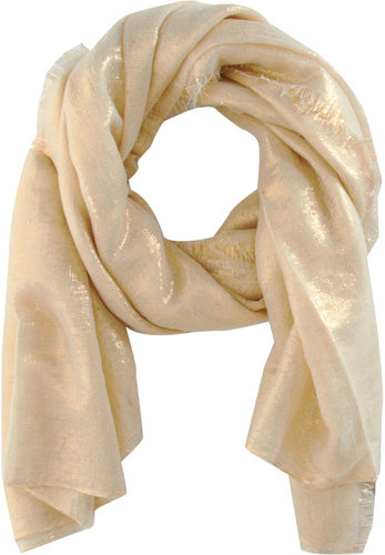 Haider Ackermann Metallic Evening Scarf