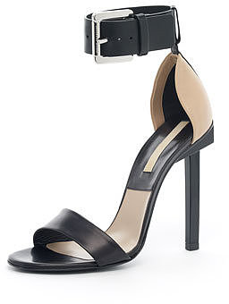 Michael Kors Two-Tone Sandal, Black