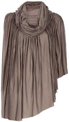 Rick Owens Asymmetric drape top