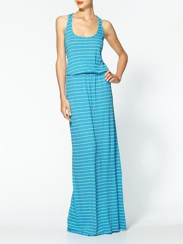 Michael Stars Highline Stripe Blouson Maxi Dress