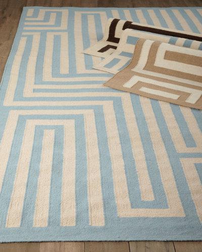 """Graphic Maze"" Rug"