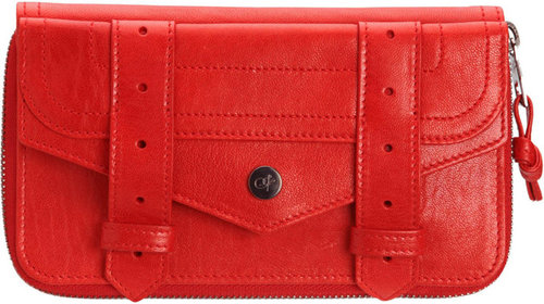 Proenza Schouler PS1 Large Zip Wallet Leather