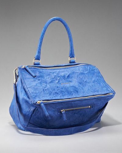 Givenchy Pandora Satchel, Bright Blue, Large