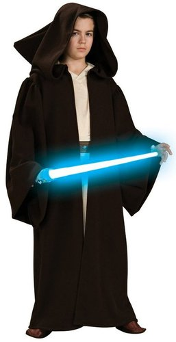 Rubies Star Wars Childs Super Deluxe Jedi Robe Costume