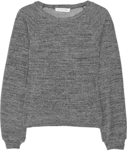 toile Isabel Marant Dory cotton-jersey sweatshirt