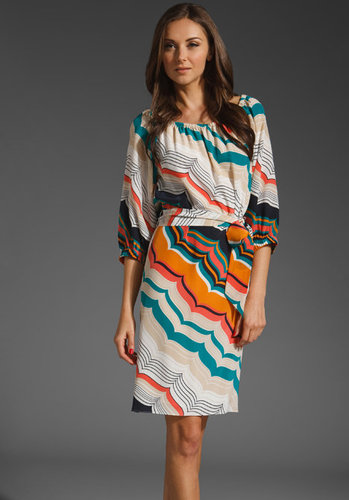 Trina Turk Timaria Silk Dress