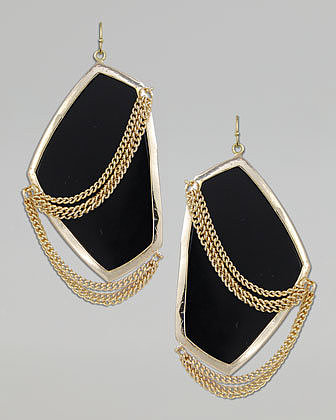 Kendra Scott Kavita Earrings, Black