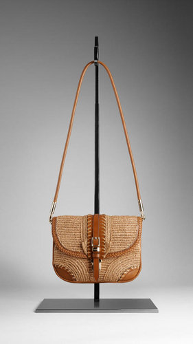 Small Woven Crossbody Bag