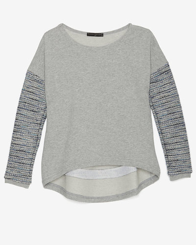Generation Love Contrast Sleeve Sweatshirt