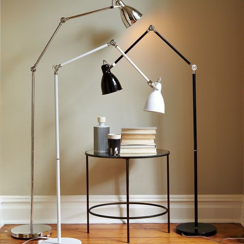 Industrial Task Floor Lamps