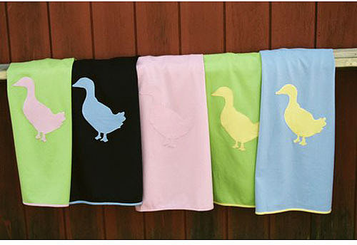 Duck Cashmere Blanket in Choice of Colors