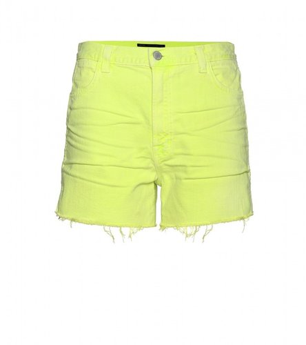 J Brand / Christopher Kane HI RISE CUT-OFF SHORTS