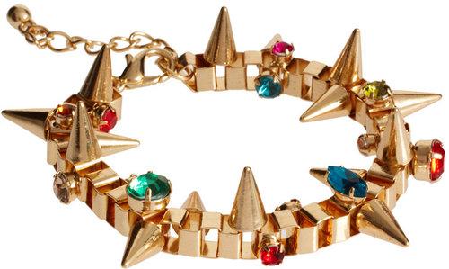 Spring Trend 2012-Bracelets Worn as Anklets