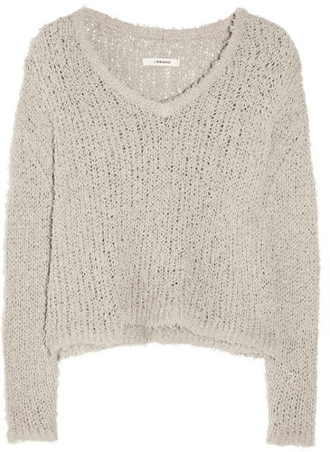 J Brand Martha loose-knit cotton-blend sweater