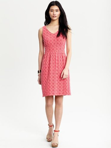 Draper sleeveless lace dress