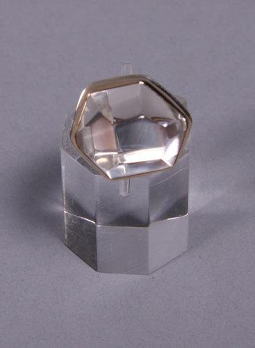 Jamie Joseph Asymmetrical Rock Crystal Ring