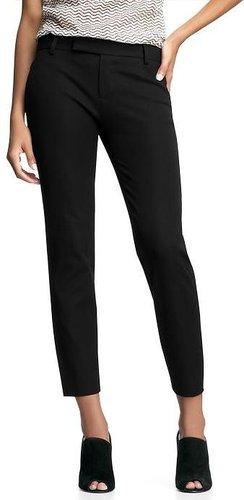 Slim cropped pants