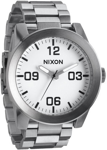 Nixon 'The Corporal' Bracelet Watch