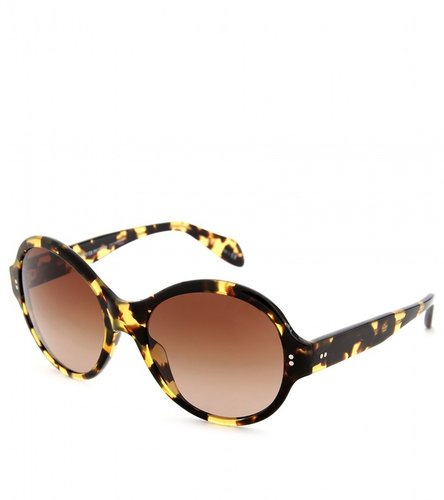 Oliver Peoples LIPSOFIRE TORTOISE SUNGLASSES