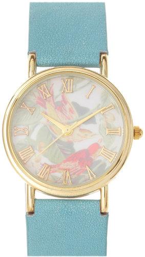 ASOS Vintage Look Bird Dial Watch