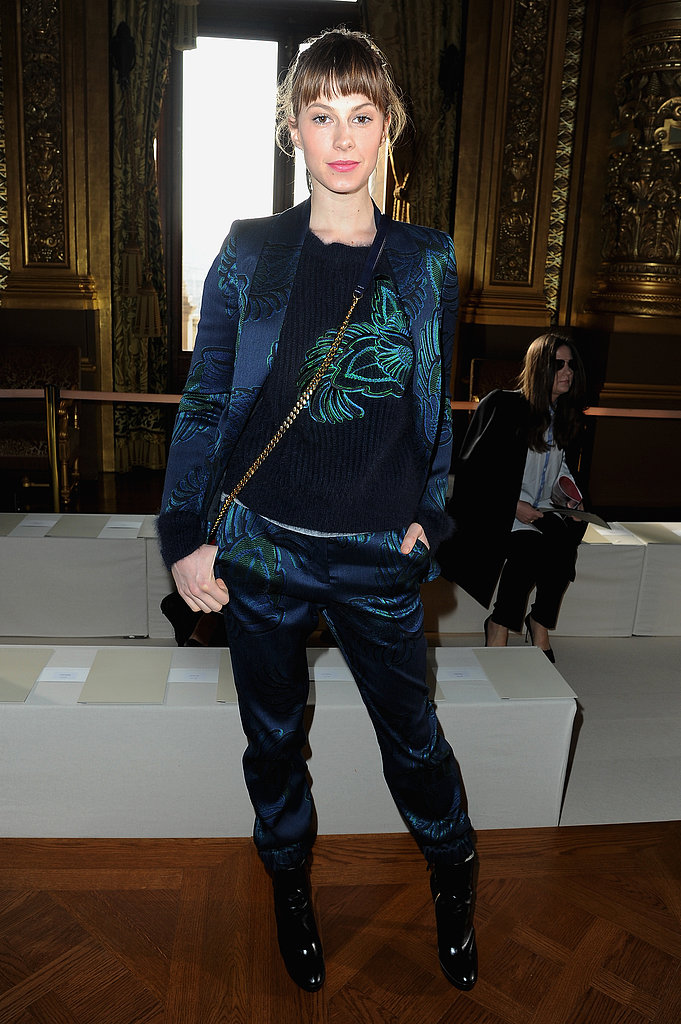 Elettra Wiedemann at Stella McCartney's show.
