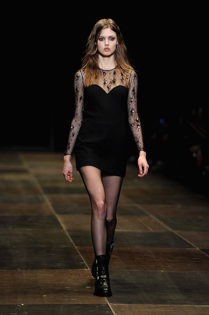 2013 Autumn Winter Paris Fashion Week: Saint Laurent