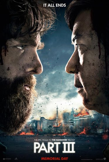 The Hangover Part III Channels Harry Potter in Its First Poster