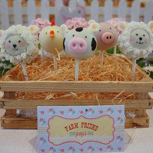 Farm Animal Barnyard Kid's Birthday Party