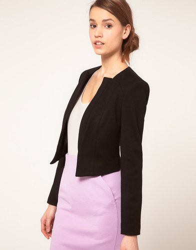 ASOS Ponti Blazer With Notch Lapel