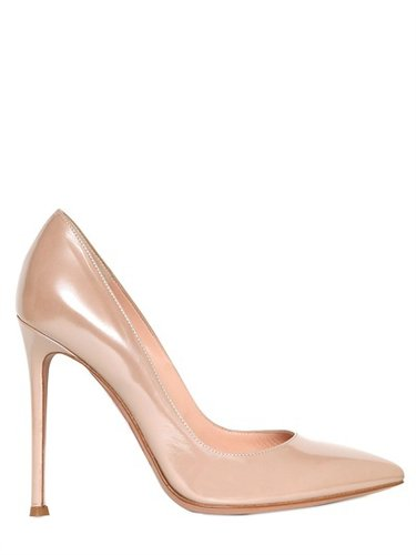 Gianvito Rossi - 110mm Glossy Calfskin Pumps