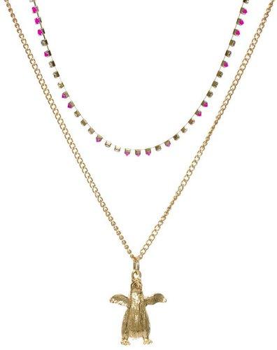 ASOS Double Pack Penguin Necklaces